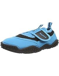 Playshoes Unisex-Kinder Aquaschuhe, Badeschuhe Neonfarben mit Höchstem Uv-Schutz Nach Standard 801 Aqua Schuhe