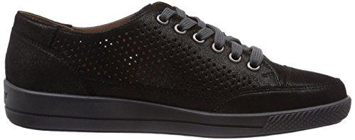 Ganter GIULIETTA Weite G Damen Sneakers Schwarz (schwarz 0100)