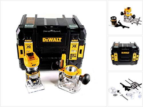 DeWalt DCW604NT-XJ - Fresadora combinada (DCW 604 NT, 18/54 V, sin batería ni cargador)