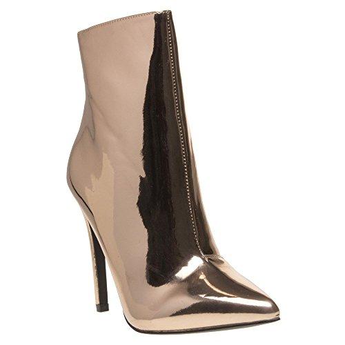 Public Desire Harlee Boots Metallic