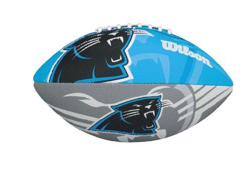 Wilson NFL Junior Team Logo Fussball (Carolina Panthers) (Junior Fußball Wilson)