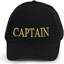 4sold Capitaine Bonnet Casquette Captain Ancient Mariner, Captain Cabin Boy  Crew First Mate Yachting Baseball 16507a8d540