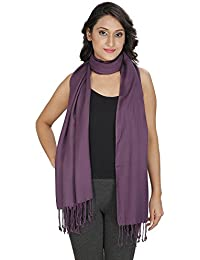 Anekaant Solid Pachmina Viscose Stole