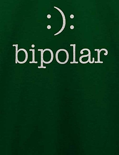 Bipolar T-Shirt Dunkel Grün