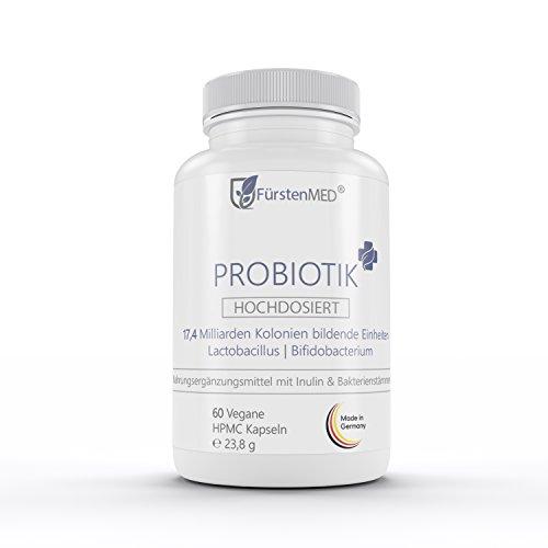 FürstenMED® Probiotik Plus - Lactobacillus + Bifidobacterium - 17,4 Mrd. KBE, Probiotika/Probiotikum...