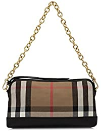 add99f2cfe671 BURBERRY Pochette Handtasche Damen Tasche Clutch mit Schulterriemen house  check