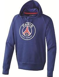 Veste Sweat shirt à capuche PSG - Collection officielle PARIS SAINT GERMAIN - Football club Ligue 1 - Taille enfant garçon