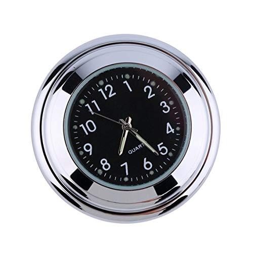 Moto impermeable Moto Manillar Montaje Redondo Reloj Reloj Accesorio Universal Manillar Montaje Reloj