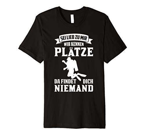 T-Shirt Taucher Tauchen Witz Schnorcheln Meer lustiger Spruc