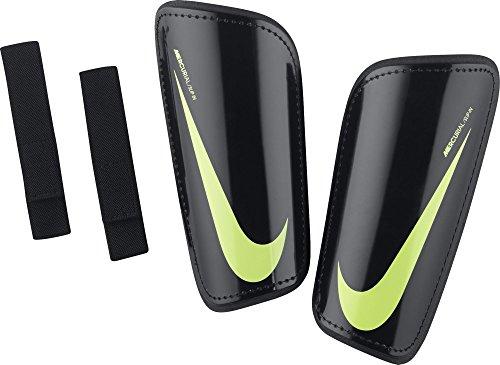 Nike Hard Shell Slip-in Fußball-Schienbeinschoner, Schwarz/Volt, L (Slip Nike)