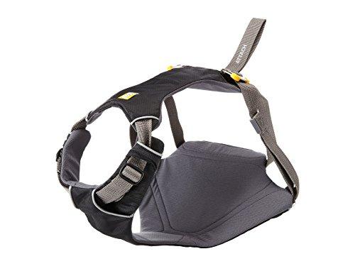 Ruffwear Hunde-Autogeschirr, Sehr kleine Hunderassen, Größenverstellbar, Größe: XS, Schwarz, Load Up Geschirr, 3060-001S1 -