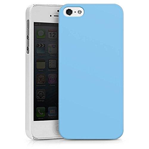 Apple iPhone X Silikon Hülle Case Schutzhülle Eisblau Blau Blue Hard Case weiß