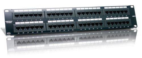TRENDnet 48-port Cat6 Unshielded Patch Panel TC-P48C6 - Cat6 Unshielded Patch Panel
