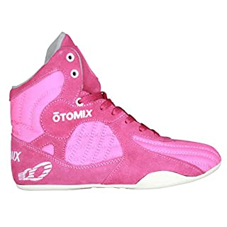 df5e86eea13778 Otomix Damen Schuhe Fitness Gym Bodybuilding Trainingsschuhe (Pink
