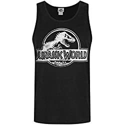 Jurassic World Hombres - Official Tank Top (M)