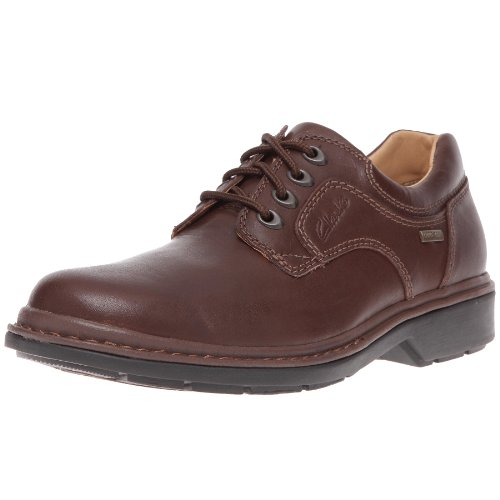 Clarks Rockie Lo GTX, Men's Derby, Brown (EBONY LEATHER), 11 UK (46 EU)