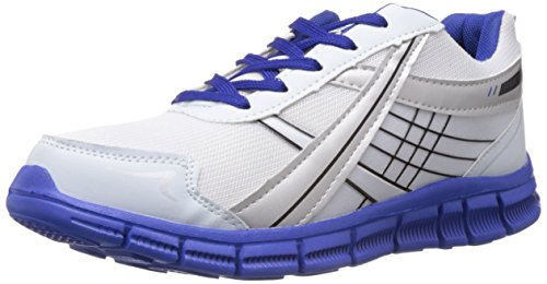 Sparx Men's  White and Royal Blue Running Shoes - 7 UK/India (41 EU)(SX0200G)  available at amazon for Rs.559