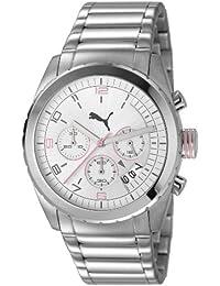 Puma Time Herren-Armbanduhr XL Cycle Chronograph Quarz Edelstahl PU103182001