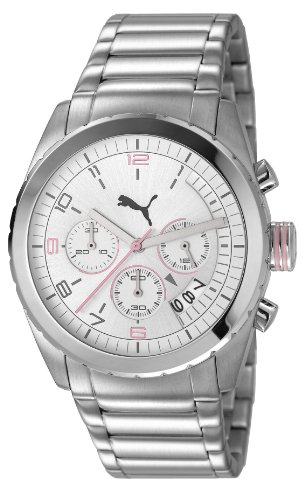 Puma Herren-Armbanduhr Woman Watch Cycle Chronograph Quarz PU103182001