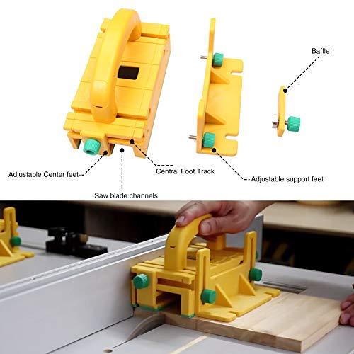 412E5Zs42dL - Bespick 3d Pulsador de Seguridad, Herramienta de Carpintería Pulsador para Madera de Plástico ABS