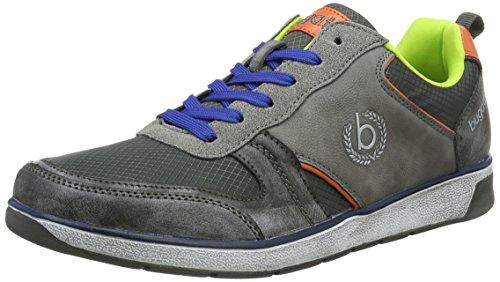 bugatti-k14116n6-scarpe-da-ginnastica-basse-uomo-grigio-grau-160-44-eu