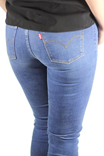 Levis Jeans Women 710 SUPER SKINNY 17780-0015 Darling Blue Blue