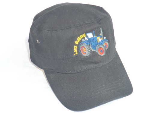 Lanz Bulldog Cap in Army/Trooper-Style schwarz