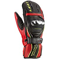Leki WC Racing Tit S Mitten-Moffola Racing - 9,5, Black-Red-Yellow