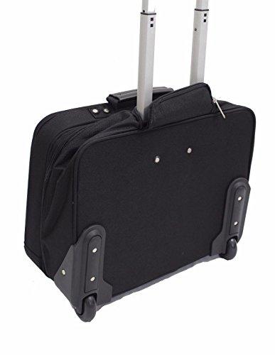 Aktenkoffer Mit Rädern Laptop-taschen (Generic Trolley Bag Whe Aktentasche Bürotasche mit Rädern Handgepäck Handgepäck New Business Laptop Tasche Trolley Trolley Bag Laptop Troll Trolley)