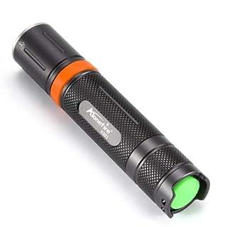 Alonefire Taschenlampe X001 Cree L2-1000 Lumen - Grau-Orange