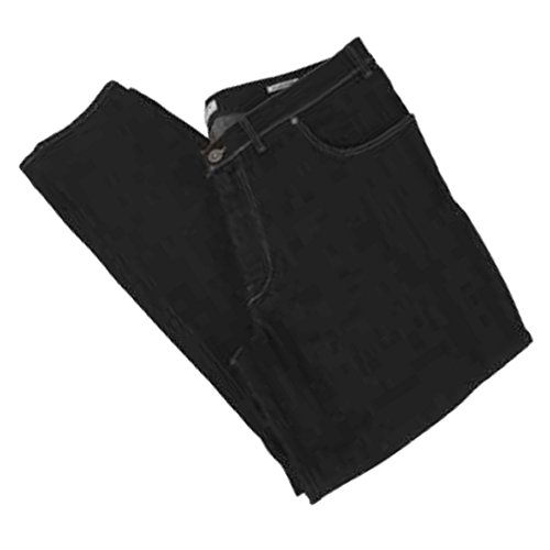 Pantalone jeans taglie forti uomo Maxfort 2200 stretch - Nero, 78 GIROVITA 156 CM