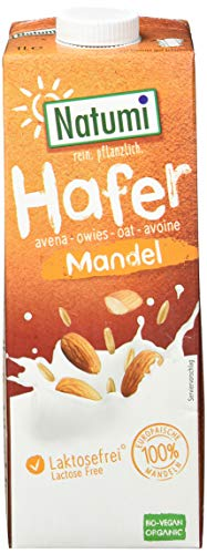 Natumi Hafer Mandel Drink Ungesüsst Bio, 6er Pack (6 x 1 l)