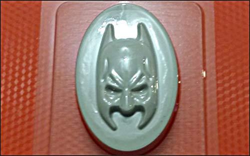 1pc Batman-Maske-Marvel-Film, Kunststoff-herstellen von Seife Wachs Schokolade Gips-Käse-Cookies, Gelatin Mold Casting-Nahrungsmittelgrad-Form 85x58x22mm 58 Chocolate Mold