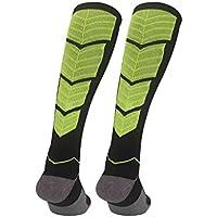 Republe 1 par profesionales Marathon Powerlifting pegan la desodorización funcionales Calcetines de fútbol para hombres mujeres