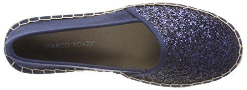 Marco Tozzi Damen 24217 Espadrilles Blau (Navy Comb)
