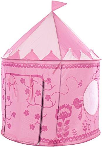 Trespass Kinder Chateau mit Uv-Schutz und Tragetasche Spielzelt, Pink, One Size (Kleinkind Ski-ausrüstung Jungen)