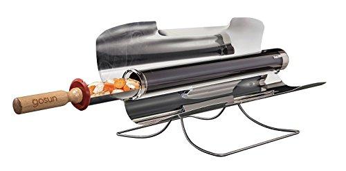 太陽光だけで調理するコンロ「ゴーサンストーブ」20分で280℃に!曇りの日も使える!