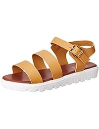 c7741917642 People Women s Tan Fashion Sandals-6 UK India (39 EU) (8907888118822