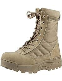 Yudesun Curtida Desierto Ejército Patrulla Seguridad - Botines Desert Hombre Zapatos Trabajo Botas Militares Militar Táctico