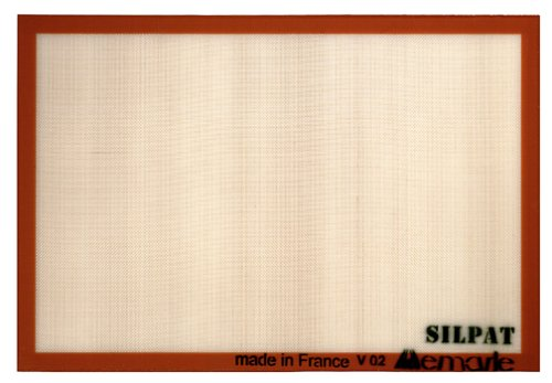 Silpat Non-Stick Silicone Commercial Size Baking Mat, 16.5-Inch by 24.5-Inch by Silpat - Silpat Non-stick Baking Mat