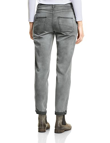 Cecil Damen Hose Grau (Graphit Light Grey 10498)