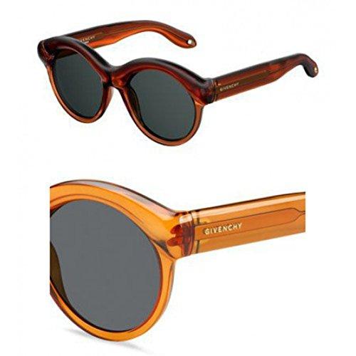 Givenchy gv 7050/s ir l7q 54 occhiali da sole donna, arancione (orange/grey),