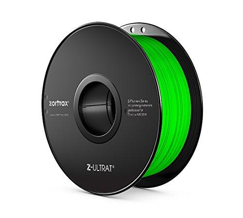Zortrax 5902280820253 Z-ULTRAT Filament pour Imprimante 3D, Vert fluo