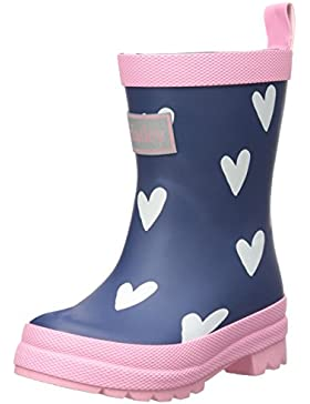 Hatley Mädchen Classic Rain Boots Arbeits-Gummistiefel, Blau