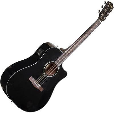 Fender 0961542006cd-60ce–Guitarra electroacústica, color negro