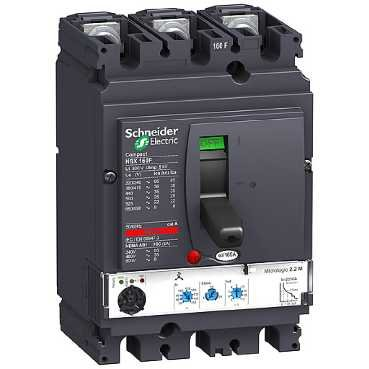 SCHNEIDER ELEC PBT - PAC 10 03 - INTERRUPTOR ELECTRONICO MICROLOGIC 2 2-M 100A 3 POLOS 3R