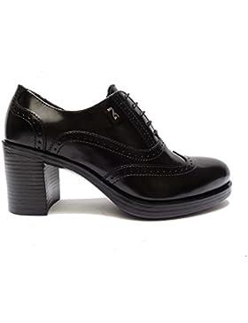 Nero Giardini 19360 scarpe da donna francesine in pelle col. Nero tacco cm. 7, num. 37
