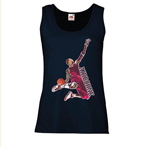 Top Sei der Herr der Schwerkraft, Basketball Freestyle Dunk - Ich Liebe Dieses Spiel (XX-Large Blau Mehrfarben) (Schiedsrichter Halloween-outfit)