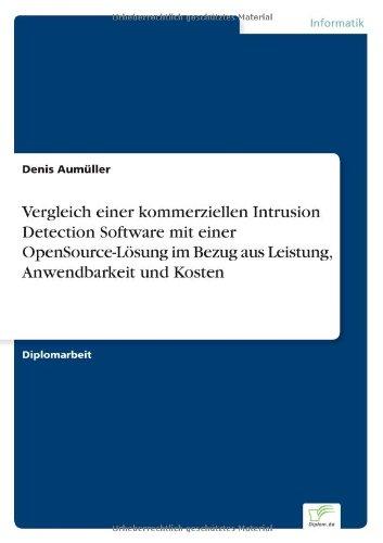 Vergleich einer kommerziellen Intrusion Detection Software mit einer OpenSource-Lösung im Bezug aus Leistung, Anwendbarkeit und Kosten