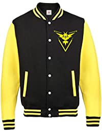 Inspired TEAM INSTINCT Poke them and Go Adult & Kids Varsity Jacket PLUS 1 T Shirts Top All sizes